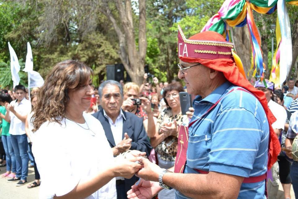 Se realizó el tradicional Tinkunako en Malligasta con la asistencia de la Intendenta