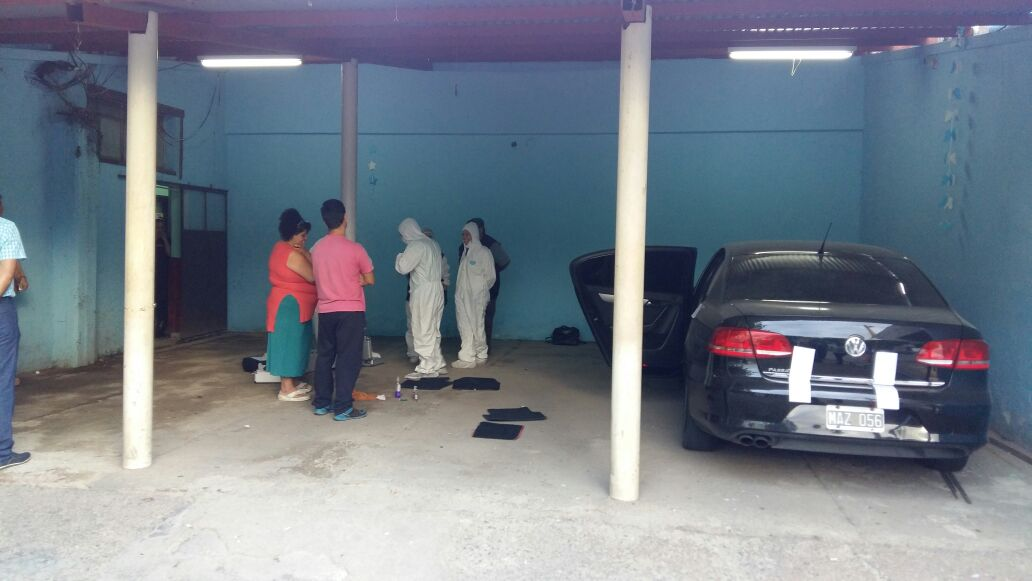 Caso Barazzutti: Se realizaron las pericias en el auto de Luis Alcaraz [VIDEO]